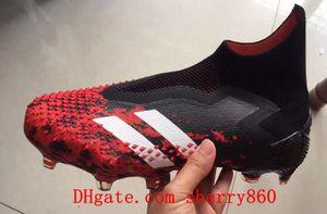 2020 qualité supérieure chaussures de football vente chaude Predator 20+ FG crampons de football hommes chaussures de football Botas de futbol Archetic