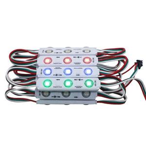Ws 2811 injektion ic led pixel modul licht für zeichen buchstaben bildschirm smd 5050 rgb traum farbe dc12v wasserdicht ws2811 punkt adressierbares licht
