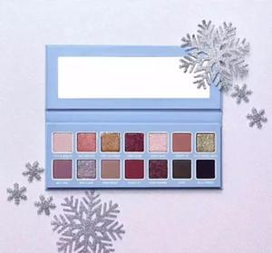 1 pcs MAIS BAIXO Preço A +++ Qualidade 2018 coleção de Natal CHILL BABY paleta da sombra de Natal maquiagem CHILL BABY paleta frete grátis