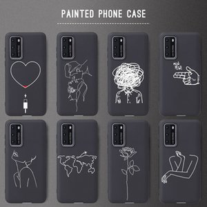 Fitted Cases Mini Heart 40 Lite Soft TU case For Huawei 20 P20Pro P30 Lite P30Pro Honor 10 20 Phone Cover Case