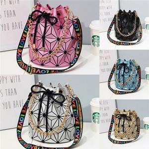 Lostsoul Marken-Frauen-Schultertasche aus Leder Zahnstocher Stripes Aktentasche Top-Griff Taschen-Designer-Geschäft Damen Geometric Black # 124