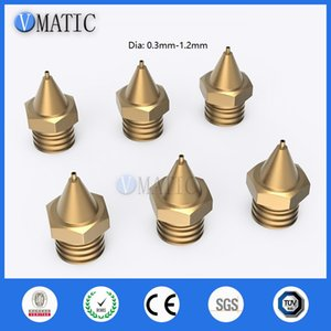 High Quality Copper Material Heating Thread Dispensing Machine Valve Accessories Needle Tip