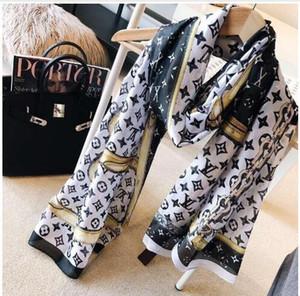 anello lungo collo sciarpa di seta 2020 donne calde dello scialle di modo sciarpa di vendita Hot Spring regalo di Natale 180x90cm all'ingrosso