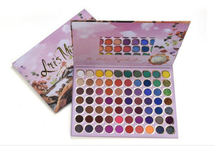 70 Colore Materia / scintillio Mix Eyeshadow Palette alta Pigment Eyeshadow Palette impermeabile nudo Eye Shadow Palette cosmetico professionale