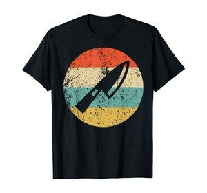 Chef Shirt - Vintage Retro Chef Knife T-Shirt