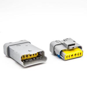 무료 배송 30Sets는 시트로엥 푸조 르노에 대한 FCI 6 핀 남성 여성 회색 가속 페달 자동차 커넥터 키트