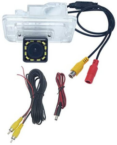 Caméra de stationnement de la caméra arrière de la voiture de voiture de voiture avec lumière LED pour Suzuki Swift Sport 2014