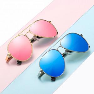 Aviator Child Kids Sunglasses Metal Frame Sun Glasses Boys Girls Brand Eyewears Fashion Shades For Boy Girl