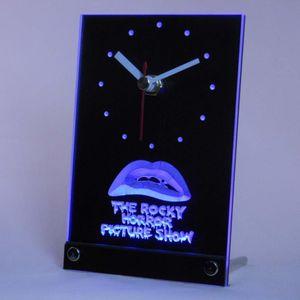 Atacado-tnc0220 The Rocky Horror Picture Show Table Desk 3D Relógio LED