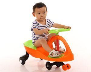 Fábrica libre del envío de los niños al por mayor directos clásicos Bicicletas coche de la torcedura del coche Correpasillos deportes al aire libre Juego oscilación