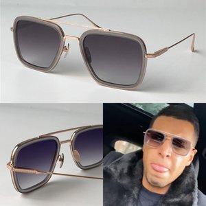 Uomo nuovo design della moda occhiali da sole 006 cornici quadrate epoca uv stile popolare 400 occhiali protettivi all'aperto