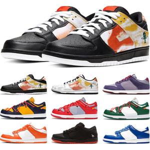 Nike SB Dunk x Nike Air Jordan 1 Travis Plataforma Scotts Calzado casual para hombre de las zapatillas de deporte Noche de Travesura ciruela sombra Trainer monopatín