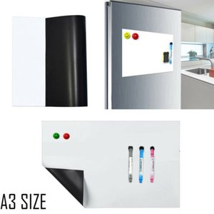 A3 Magnetic Whiteboard Sticker Drawing Message Refrigerator Home Office Memo Whiteboard