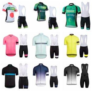 2019 Pro Team Rapha EUROPCRA Велоспорт Джерси Велосипед Летний стиль с коротким рукавом Топы нагрудниками шорты набор дышащий быстрой сухой одежды велосипедов K032803