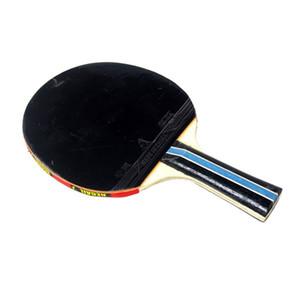 Longo Handle Shake-mão Table Tennis Racket Ping Pong Pouch Red Tabela Indoor Tennis Acessório
