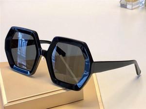 Neue Modedesigner-Frauen-Sonnenbrille 0708 Quadratrahmen-Funktion beliebt einfach großzügiger Top-Qualität Laufsteg Stil uv400 Schutzbrille