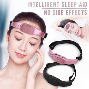 Elektrische HauptMassager Schlaf-Monitor Migräne EntlastungMassager Schlaflosigkeit Therapie Stress abzubauen Schlaftherapiegerät Schlafen