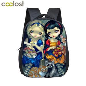 100 % 새로운 브랜드 만화 소녀 작은 배낭 아이 유치원 가방 여자 기저귀 가방 아기 유아 가방 어린이 학교 가방