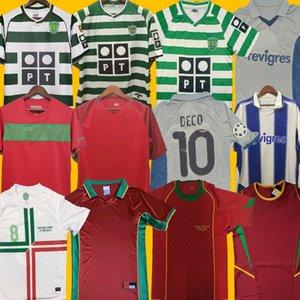 1998 2012 2016 2010 Retro calcio maglie FIGO RONALDO nani 2002 2004 Euro DECO McCARTHY Derlei 02 03 Vintage Maillot DANNY Camisa de futebol