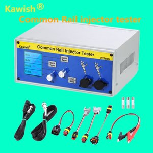 Kawish! LCD grande CIT800 diesel common rail injector tester diesel Piezo Injector testador motorista injector electromagnico