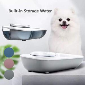 Köpekler Pet için Bowl İçme Köpek Besleyici Otomatik Su Sebili Gıda Kedi Bowl Su ve Gıda Feeder'ı Malzemeleri