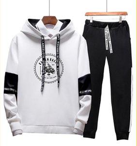 Designer Mens Tute stampa casuale Tute tute Hommes Jogger Pollover cappuccio cappuccio Sporting UOMINI Suit Hip Hop Imposta M-3XL