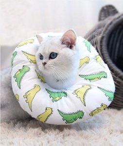 Pet Elizabeth Circle Collar Cotton Dogs Protective Neck Collar Cat Wound Healing Puppy Anti Bite Collar*