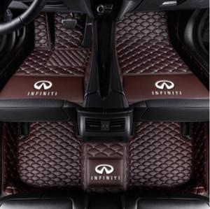 Infiniti G37 JX35 Q50 Q60 Q60Q QX30 QX30 QX60 QX60 QX70 QX80-Veloster tapete do assoalho Do Carro