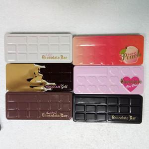 2017 Hot fronte Eyeshadow Palette dolce pesca bianca Chocolate Bar semi-dolce cioccolato Bon Bons oro cioccolato ombretto trasporto libero