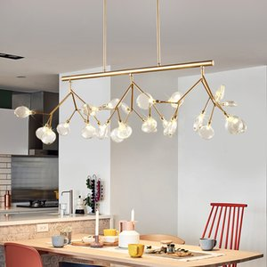 Led 현대 샹들리에 램프 거실 침실 Lamparas Colgantes 북유럽 Lustre Luminaire 산업용 조명 설비에 대 한