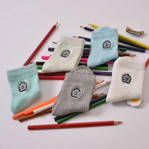 5 pares / porción 2016 nuevo del algodón de alta calidad de la marca calcetines de los niños de 3-12 años los niños calcetines calcetines para niños
