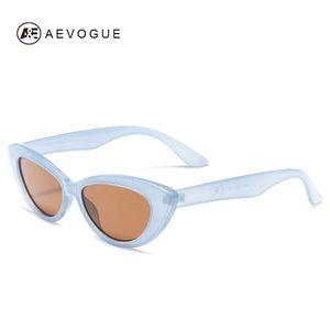 AEVOGUE Occhiali da sole donna gatto elegante Eye 2019 Moda di tendenza del progettista di marca Vintage Donna Occhiali da Sole Carino UV400 AE0655