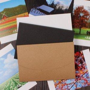 4x6 inch Balck White Cardboard Photo Packaging Box Kraft Postcard Envelope Photo Package Case Gift Box ZA5215
