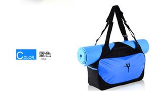 Fábrica se divierte el bolso de alta calidad a prueba de agua Yoga directa viajan bolsa de estera de yoga bolsa de deporte mochila