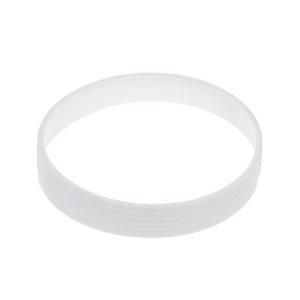 Golf Putting Green Cup Ring Golf-Feld Zubehör 11cm Durchmesser Weiß