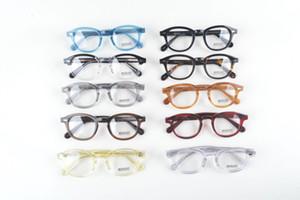 Очки LEMTOSH прозрачные линзы Джонни Депп очки близорукость очки Ретро óculos de grau мужчины и женщины близорукость очки оправы