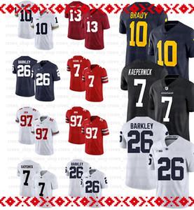 NCAA 10 Jimmy Garoppolo Jersey 25 Richard Sherman 97 Nick Bosa 16 Joe Montana 80 Jerry Rice 8 Steve Young 4 Nick Nick Mullens 97 Bosa Mike M