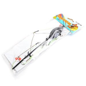Pelle à lancer de pêche en mer de grande puissance de haute qualité avec appâts en cage crochet pour poissons barbelés Luya ensemble crochet groupe de pêcheurs XYD-022