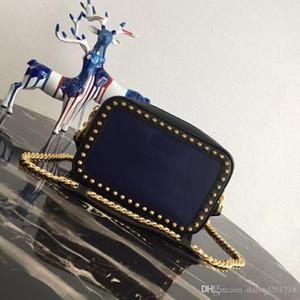 XMYD Yeni Avrupa tarzı lüks klasik bayan çanta omuz çantası yumuşak deri katı korteks mektup dekorasyon bronz renkli fermuar yapılır
