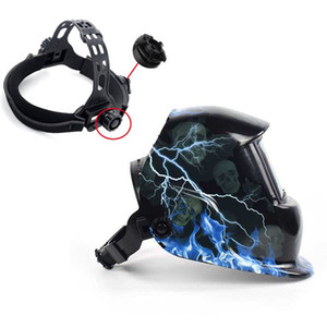 Industrial welding helmet with safety mask