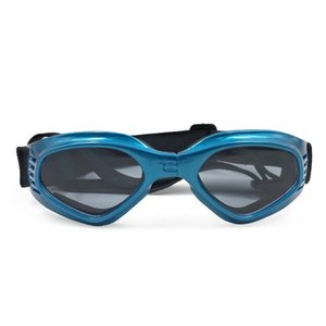 Stylish and Fun Pet Dog Puppy Uv Goggles Sunglasses Waterproof Protection Sun Glasses for Dog-Blue