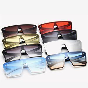 Fashion Design Women Sunglasses Big Square Frame Summer Abumbral Retro Vintage High Quality Sunglasses Outdoors Beach Glasses 2020