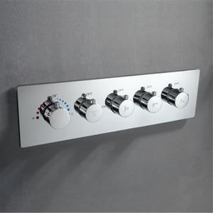 욕실 믹서 온도 조절 4 가지 방법 샤워 밸브 황동 크롬