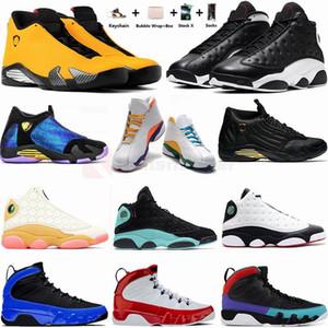 Jumpman 13 Zona de juegos inversa El hombre consiguió el juego de baloncesto de los zapatos 14s DB Doernbecher Ferrar Universidad 9s rojas para mujer zapatillas de deporte de Formadores