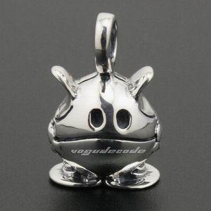 925 Sterling Silver Cute Pet моды кулон 8A025 только подвеска