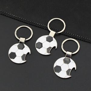 Personality galvanisieren Keychain Fußball Flaschenöffner Keys Buckle Ring WM 2018 Metall Aolly Schlüsselanhänger ZZA1388a 500PCS
