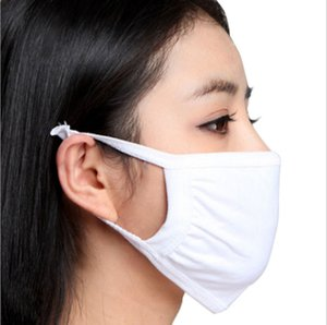 1pc bag Anti-Dust Cotton Mouth Face Mask Unisex Man Woman Health Cycling Wearing Reusable High Quality Double Fabric Mouth-muffle