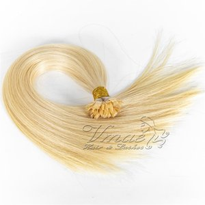 Single Drawn Blonde Brown 0.8g*200 Stand 80g European Flat tip Straight Pre-bonded Virgin Remy Keratin Fusion Human Hair Extensions