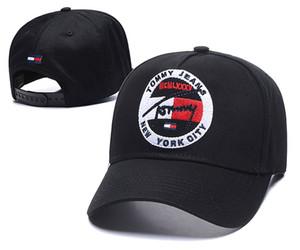 Diseñador gorra de béisbol Descuento especial icono nuevo sombrero de calidadCampo de fábrica al por mayor Sombrero Gorra Tommy d2 de los hombres del Snapback de las mujeres