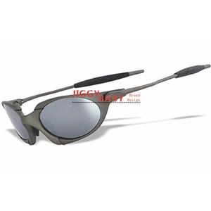 Top Romeo Sonnenbrille polarisierte X Metallrahmen Sport Reiten einen.Kreislauf.durchmachentreibende Markenname Designer Iridium Rubinrot Spiegel-Objektiv-Männer Frauen
